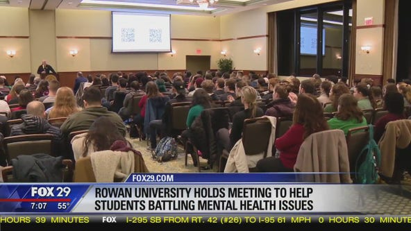 'Unacceptable': Rowan University holds meeting to address mental health issues