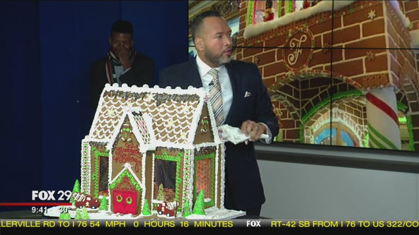 'Clear winner': Good day competes in a gingerbread house competition