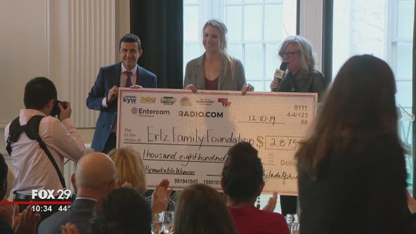 Julie Ertz recognized as 98.1 WOGL's Remarkable Woman of the Year