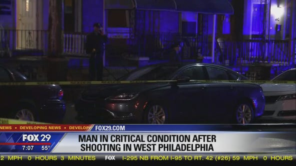 Police: Man shot twice in neck after shooting in West Philadelphia