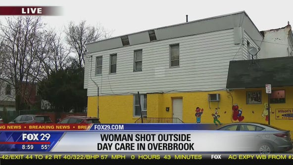Woman shot in the face outside West Philly day care