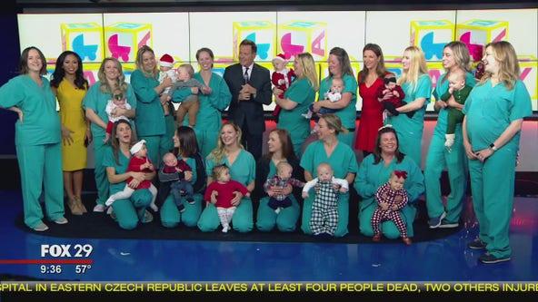 Baby boom happening among nurses at Einstein Medical Center