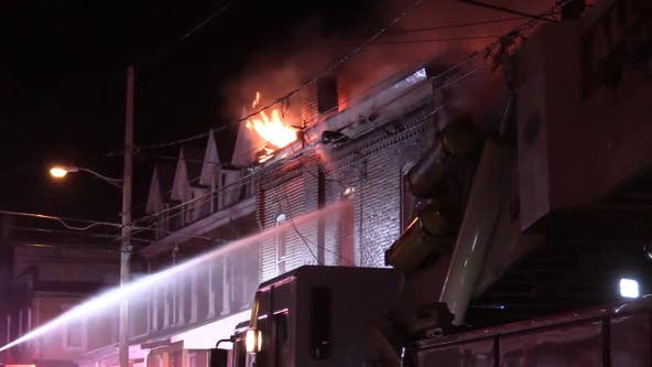Officials can't determine cause of massive fire that destroyed 10 homes in Allentown