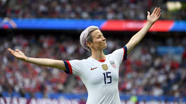 Megan Rapinoe named 2019 Sports Illustrated Sportsperson of the Year