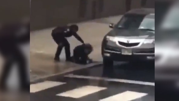 Harrowing video shows Jersey City officer running into gunfire to rescue fellow officer