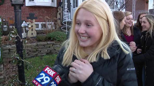 Delco charity group gives Haverford High School junior a Jingle Ball surprise