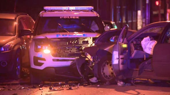 2 police officers, 1 civilian injured in Logan crash
