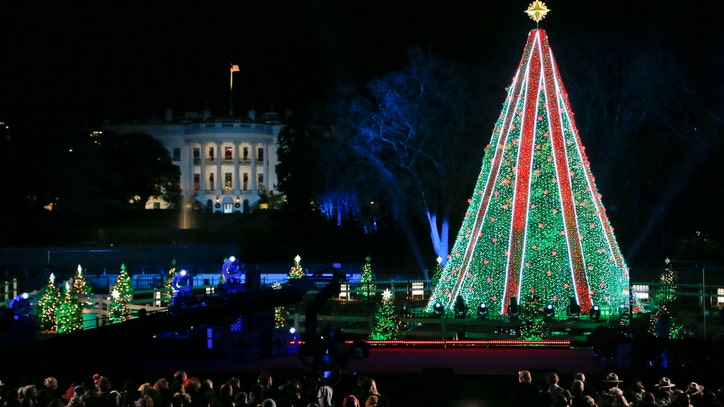 National Christmas Tree Lighting Tonight At The Ellipse