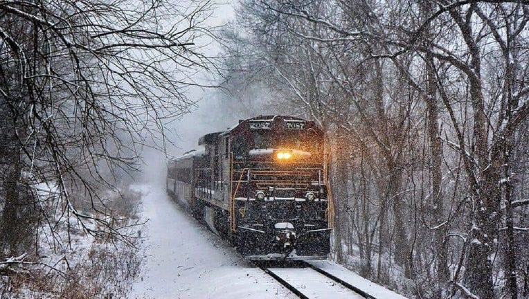 New Hope Railroad's North Pole Express