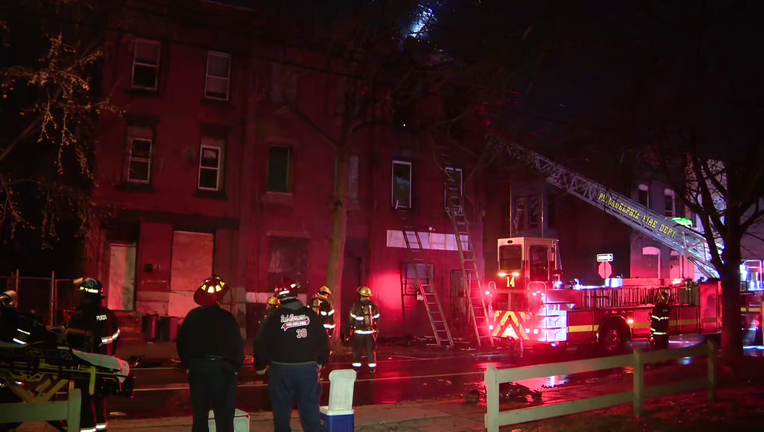 Seven people displaced after fire on West Dauphin Street.