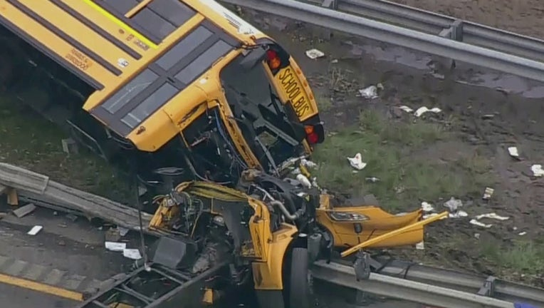 Mount Olive bus crash