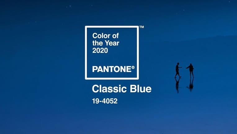 Pantone Color Institute's Color of the Year for 2020: Classic Blue