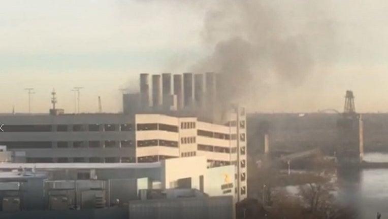 Rivers Casino car fire
