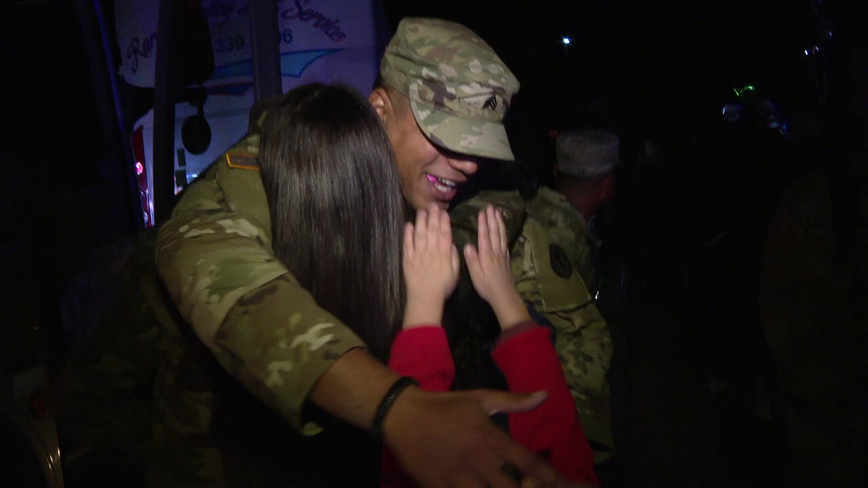 N.J. National Guard troops reunite with families just in time for the holidays