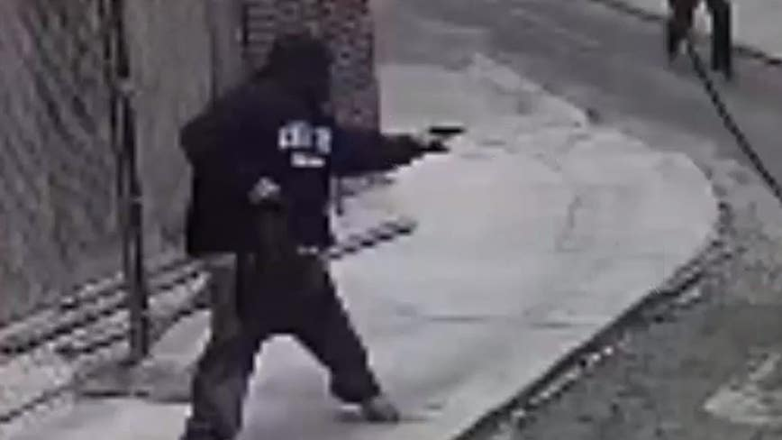 Suspect sought after robbing man at gunpoint in South Philadelphia