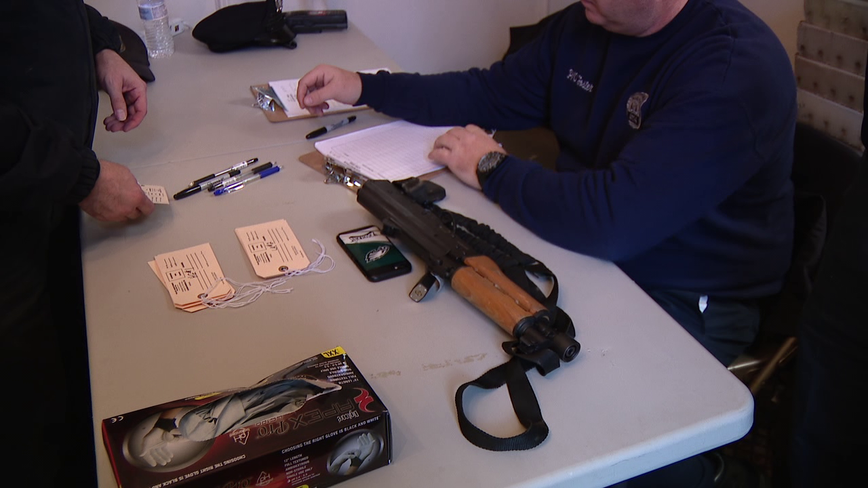 Curbing gun violence is the incentive behind gun drop-off in Hunting Park