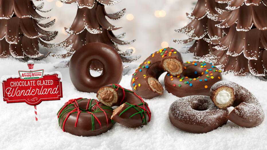 Krispy Kreme's new Holiday Doughnut Collection
