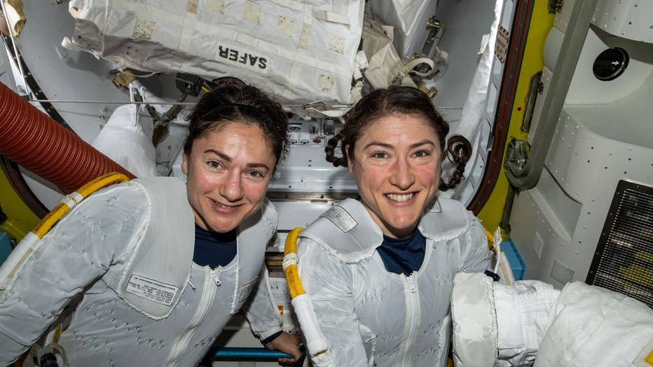 JessicaMeirChristinaKochPutOnSuitsAllFemaleSpaceWalk__NASA__JSC.jpg