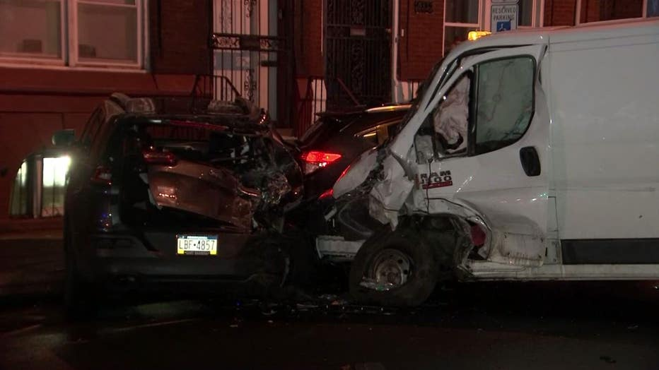 Fontain Street crash