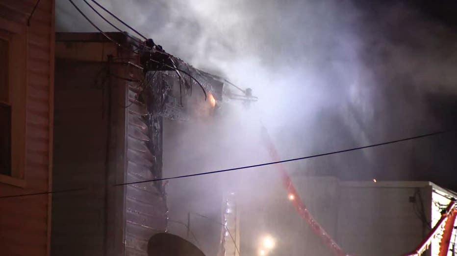 North 11th Street fire