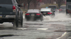 Schuylkill Expressway inundated with rain caused dangerous conditions for motorists