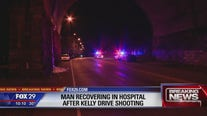 Police: Man shot while driving on Kelly Drive