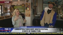 Lambertville-New Hope Winter Festival hosts 9 days of family fun