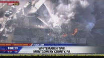 Crews respond to fire on Butler Pike in Montgomery County