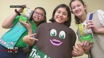 Girl Scout Troop 30208 produce rap video to help sell cookies