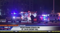 Pedestrian struck on Route 38 in Cherry Hill