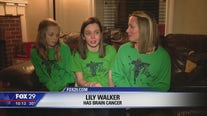 Havertown lights up in green to support teens battling cancer