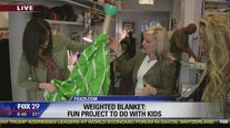 Christine Shirley teaches how to create a DIY weighted blanket on Good Day
