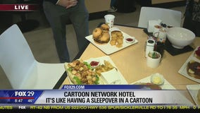 Sleepover in your favorite cartoon at world's first Cartoon Network Hotel in Pennsylvania