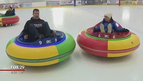 Ice bumper cars return to Ocean County