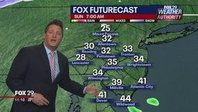 FOX 29 Weather Authority 7-day forecast 11 p.m.