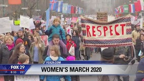 Large crowds expected for Philadelphia's 4th Annual Women's March