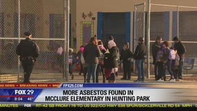 Additional asbestos exposure discovered at McClure Elementary School, teachers union says