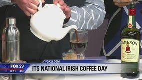 The secret to making the perfect Irish coffee