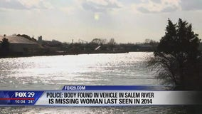 Police: New Jersey woman missing for 6 years found dead inside car submerged in river