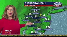 Weather Authority: Mild Friday kicks off weekend; rain ahead