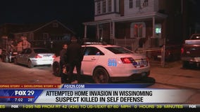 Homeowner fatally stabs armed suspect in self defense during home invasion in Wissinoming