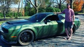 Eagles fans can bid on Carson Wentz's custom Dodge Challenger