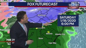 FOX 29 Weather Authority: 7-Day Forecast (Friday update)