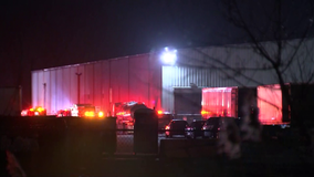 Firefighters battle 2-alarm blaze at Delco chocolate factory