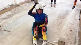 Montgomery County teen, 13, has Olympic dreams in luge sport