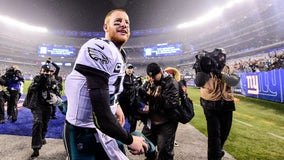Wentz to make postseason debut vs. Seahawks with depleted supporting cast