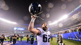 Eagles center Jason Kelce named to NFL All-Pro team for third time