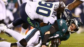 Report: Jadeveon Clowney not fined for hit on Carson Wentz during NFC wild-card game