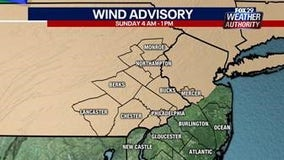 Weather Authority: Marginal risk of severe weather overnight leads to windy Sunday