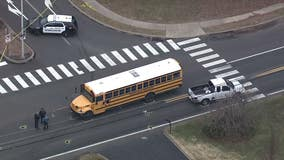 11-year-old girl struck by driver while attempting to board school bus in Bensalem